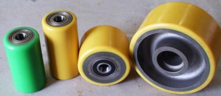 Polyurethane load wheels & Castors
